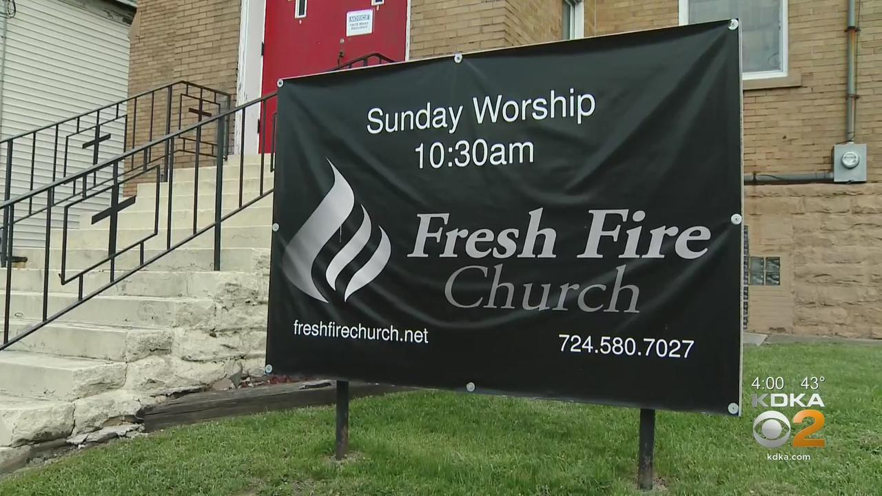 Uniontown's Fresh Fire Church Holds Food Distribution