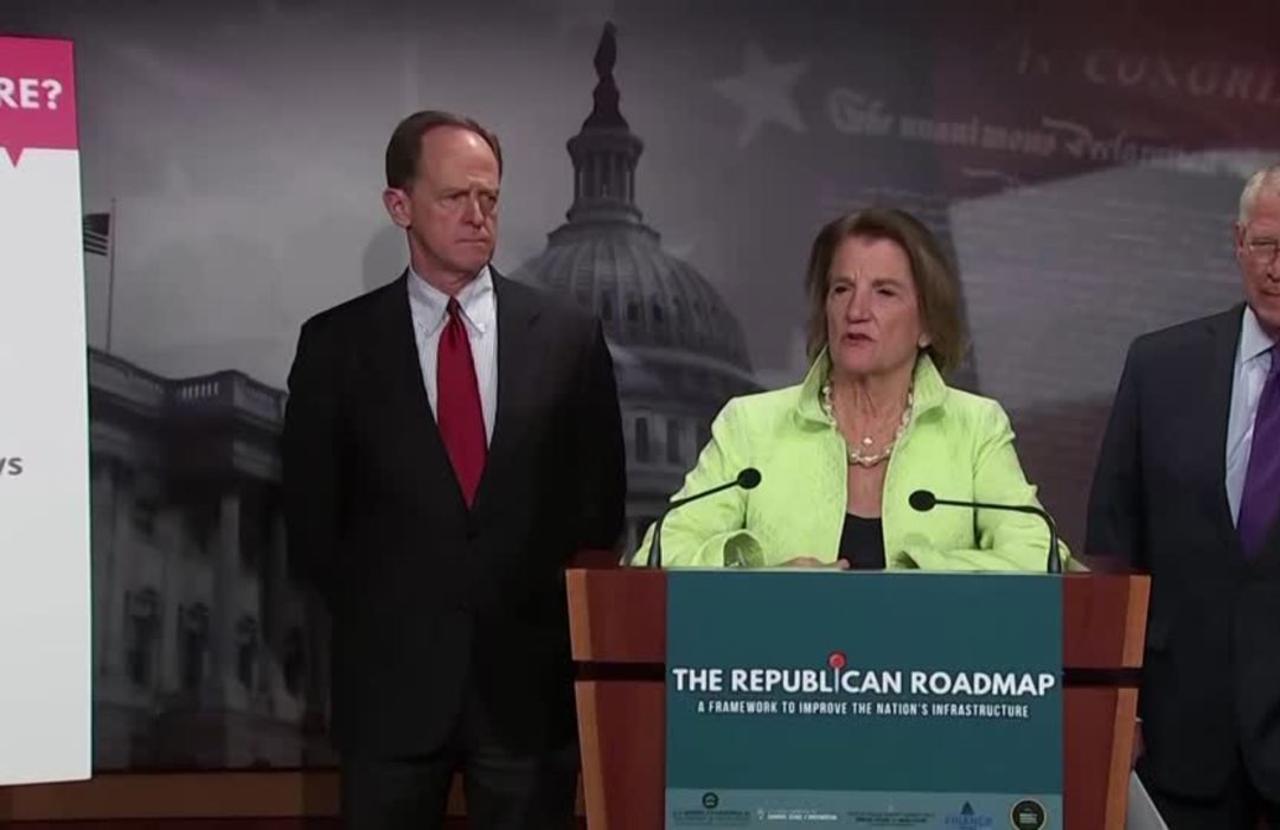 Republicans unveil $568 bln infrastructure package