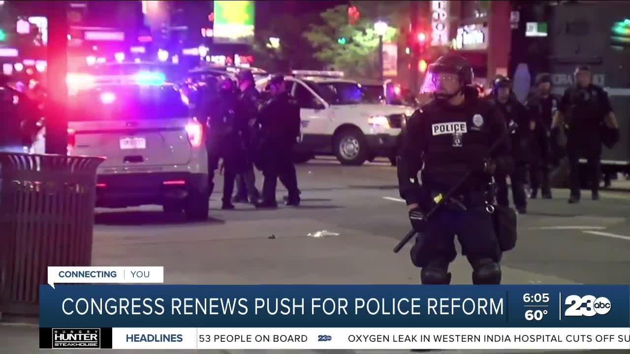 Congress renews push for police form