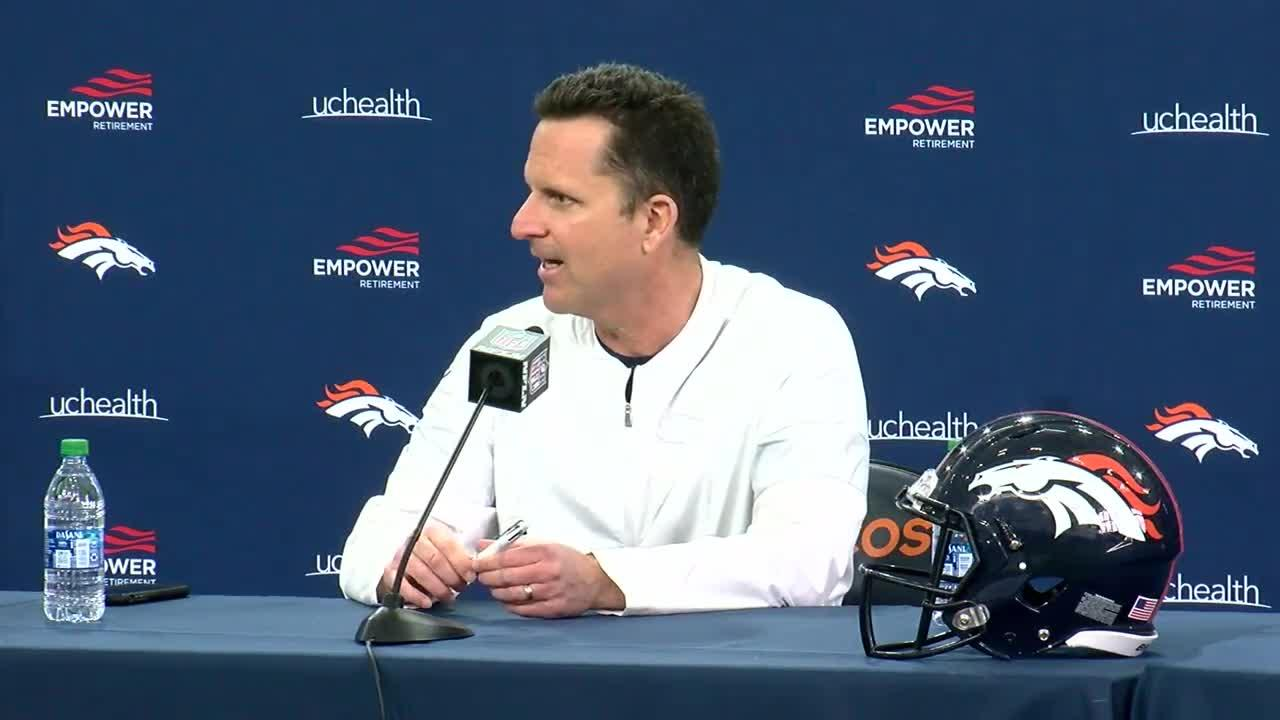 Broncos GM Paton plans to add QB, does not commit to Lock as starter