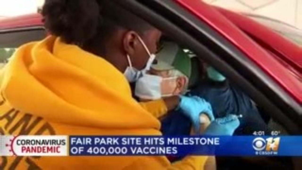 Dallas County Health & Human Services Reaches Major COVID Vaccine Milestone
