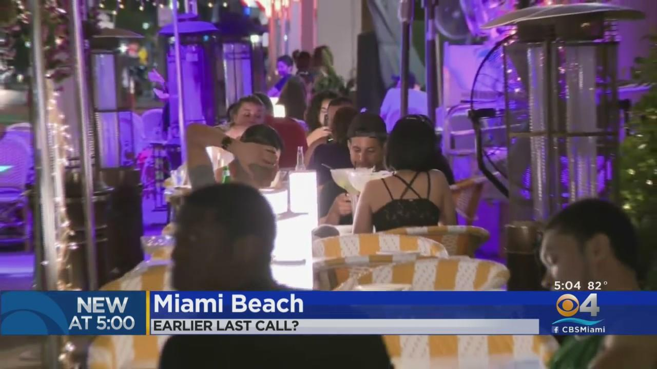 Miami Beach Ordinance Seeks To Roll Back Alcohol Sales In Entertainment District