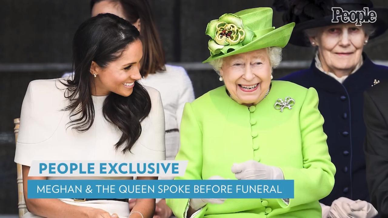 Meghan Markle and Archie Spoke with the Queen Before Prince Philip's Funeral, Says Source