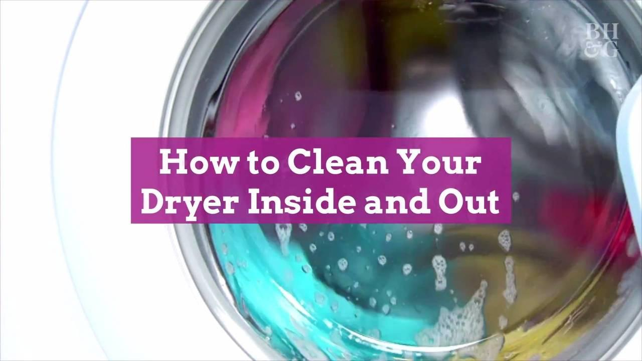 How to Clean Your Dryer Inside and Out to Keep Laundry Day Running Smoothly