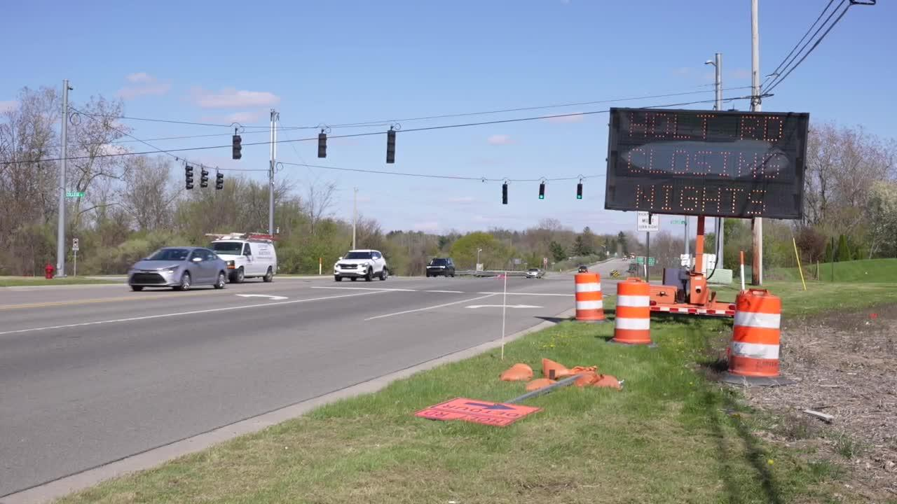 US-127, I-496 road repairs begin Monday in Ingham County