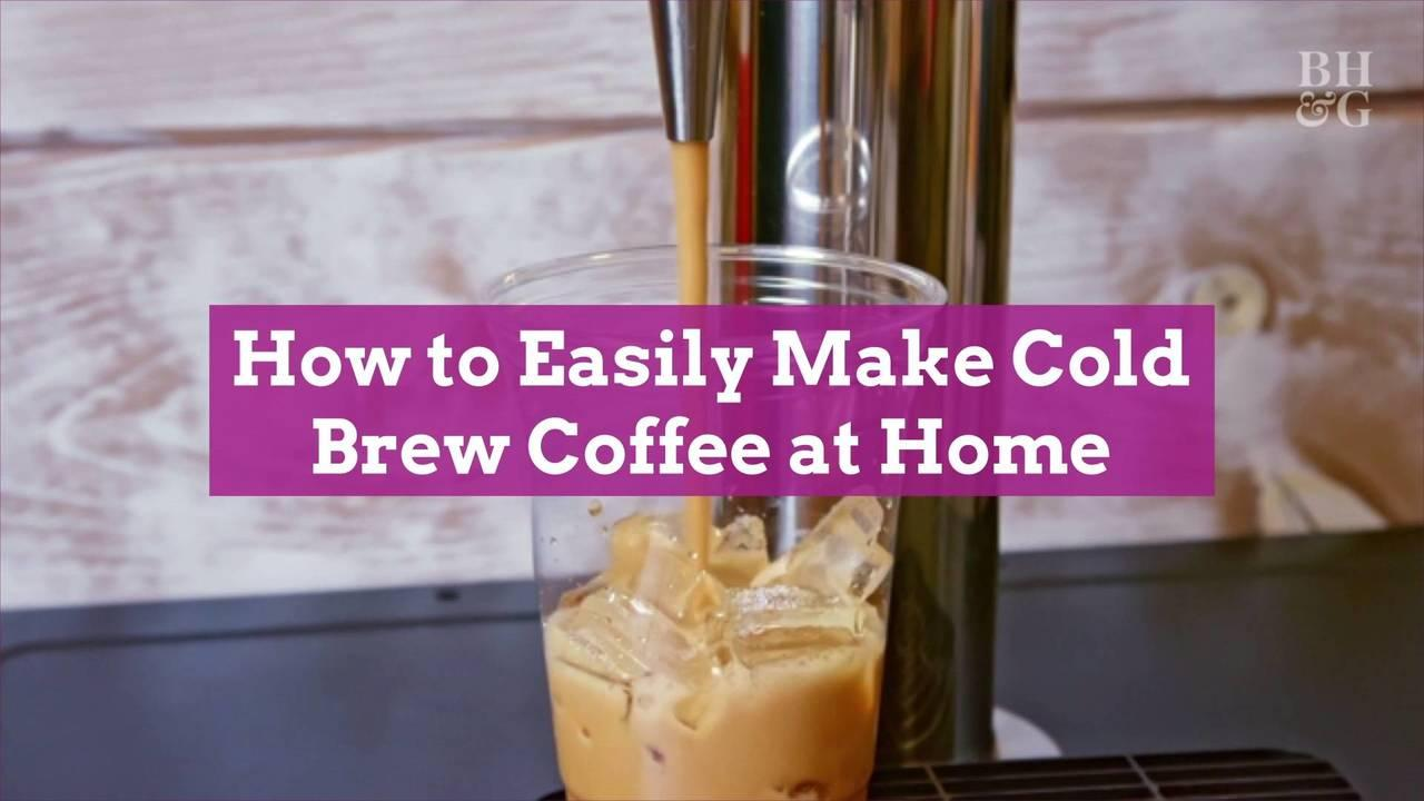 How to Easily Make Cold Brew Coffee at Home