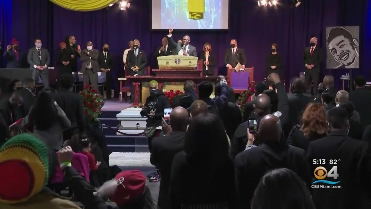 Loved Ones, Civil Rights Leaders Mourn Daunte Wright At Funeral