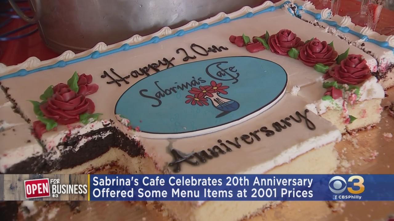 Sabrina's Cafe Celebrates 20th Anniversary