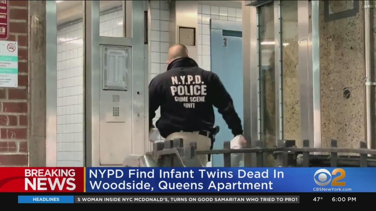 NYPD Find Infant Twins Dead In Woodside, Queens Apartment
