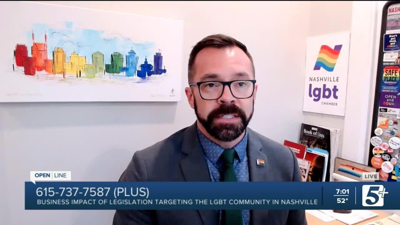 Business Impact of Legislation targeting the LGBT community in TN p1