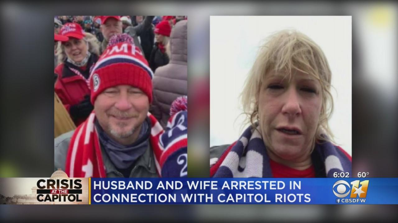 Montague County Couple Arrested For Roles In Capitol Riot