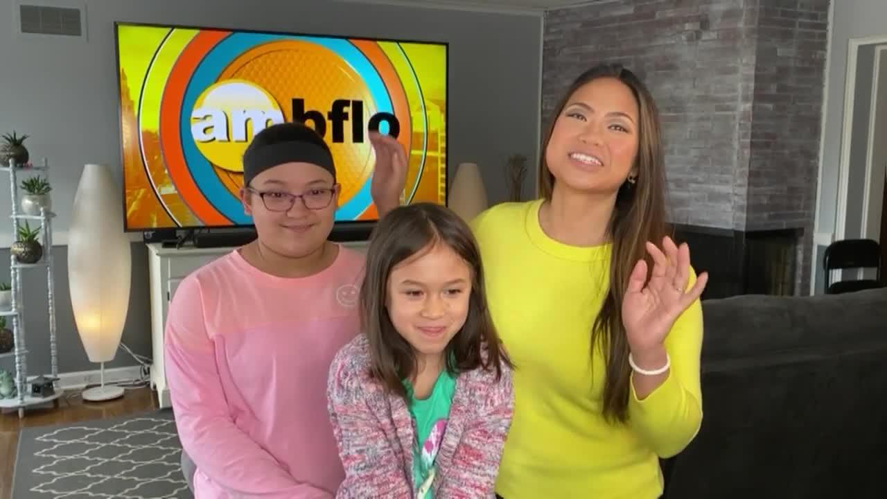 Emily Lampa 'Takes Daughters to Work' Day on AM Buffalo!