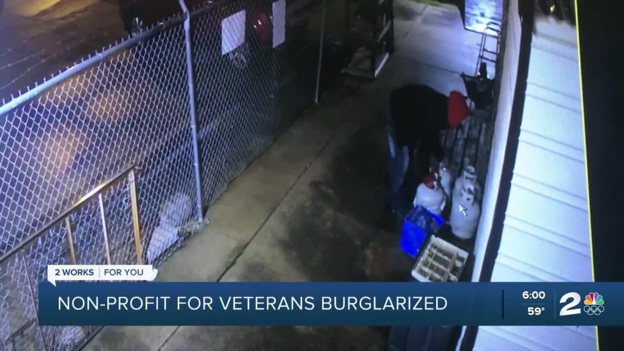Tulsa veterans organization targeted for break-ins, theft