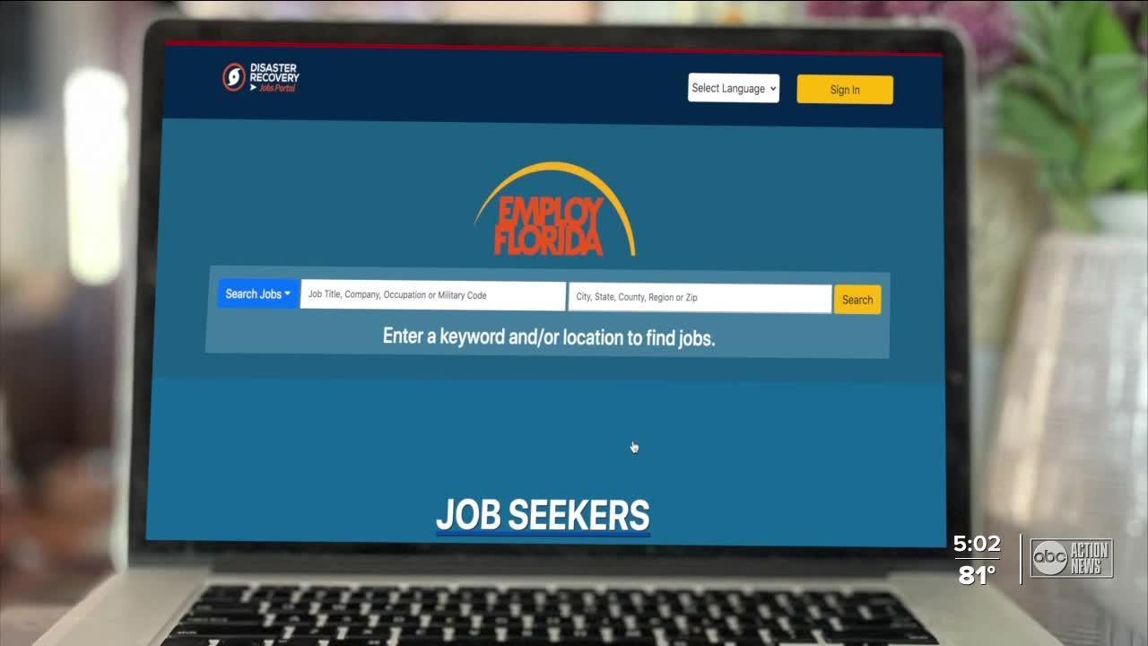 Unemployment fixes sent to Gov. DeSantis