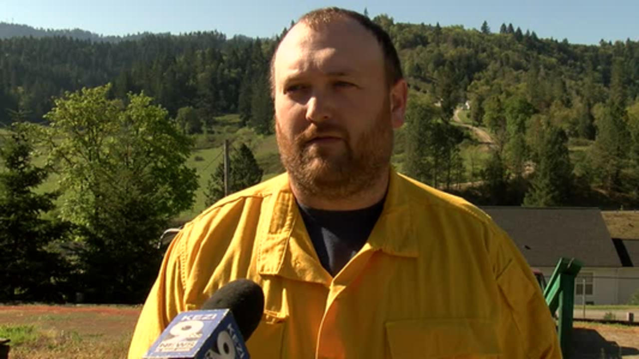 Douglas County firefighters mopping up 200-acre fire