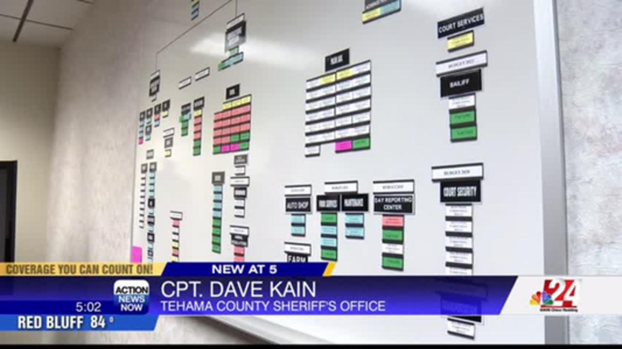 Tehama County Sheriff's office closing on Fridays due to lack of staff and funding