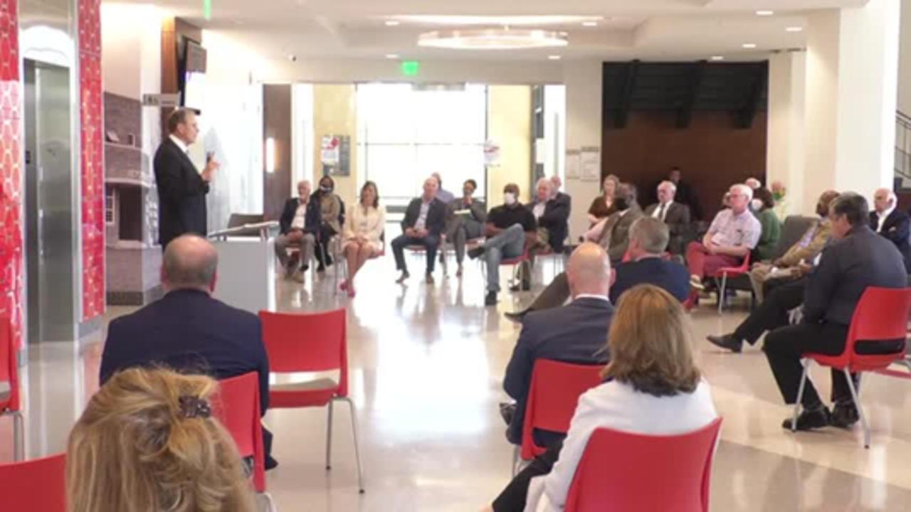 Lt. Governor Delbert Hosemann begins listening tour
