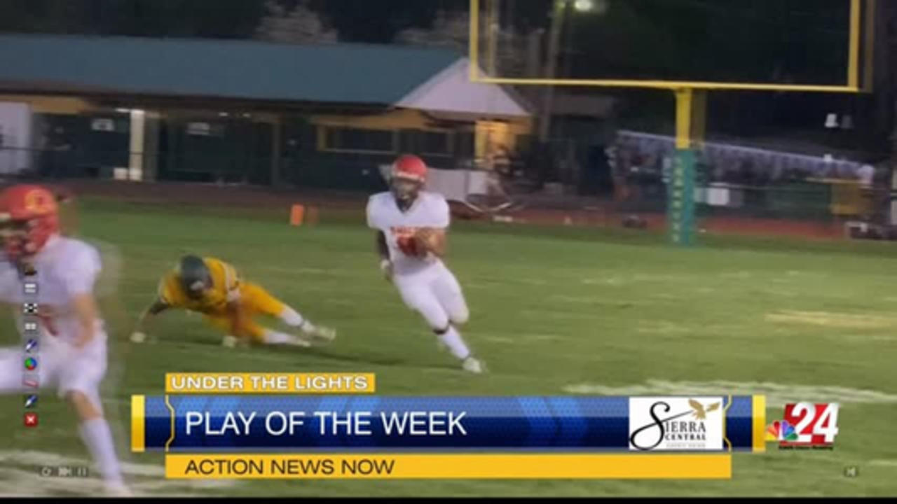 Sierra Central Play of the Week: Chico High's Dion Coleman touchdown run