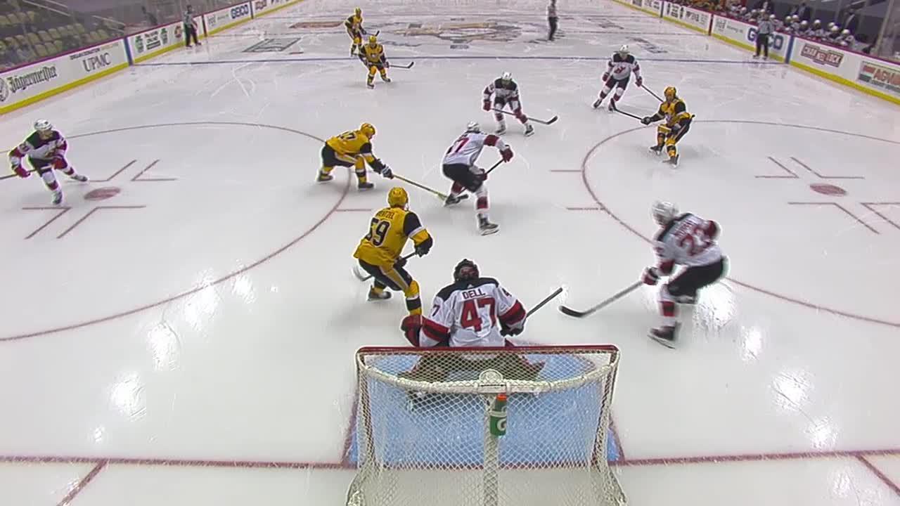Pittsburgh Penguins vs. New Jersey Devils - Game Highlights