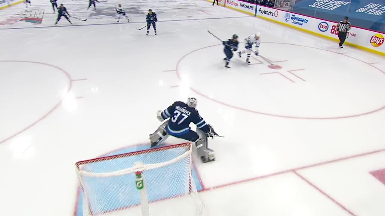 Winnipeg Jets vs. Toronto Maple Leafs - Game Highlights