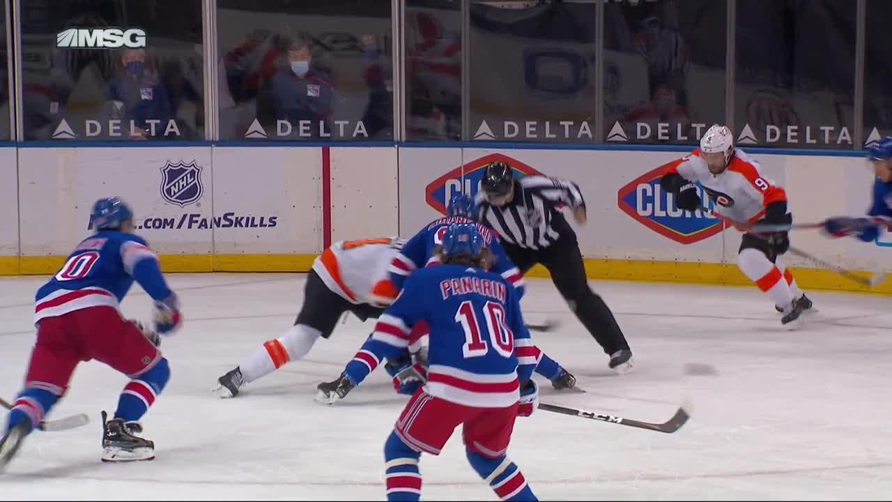 New York Rangers vs. Philadelphia Flyers - Game Highlights