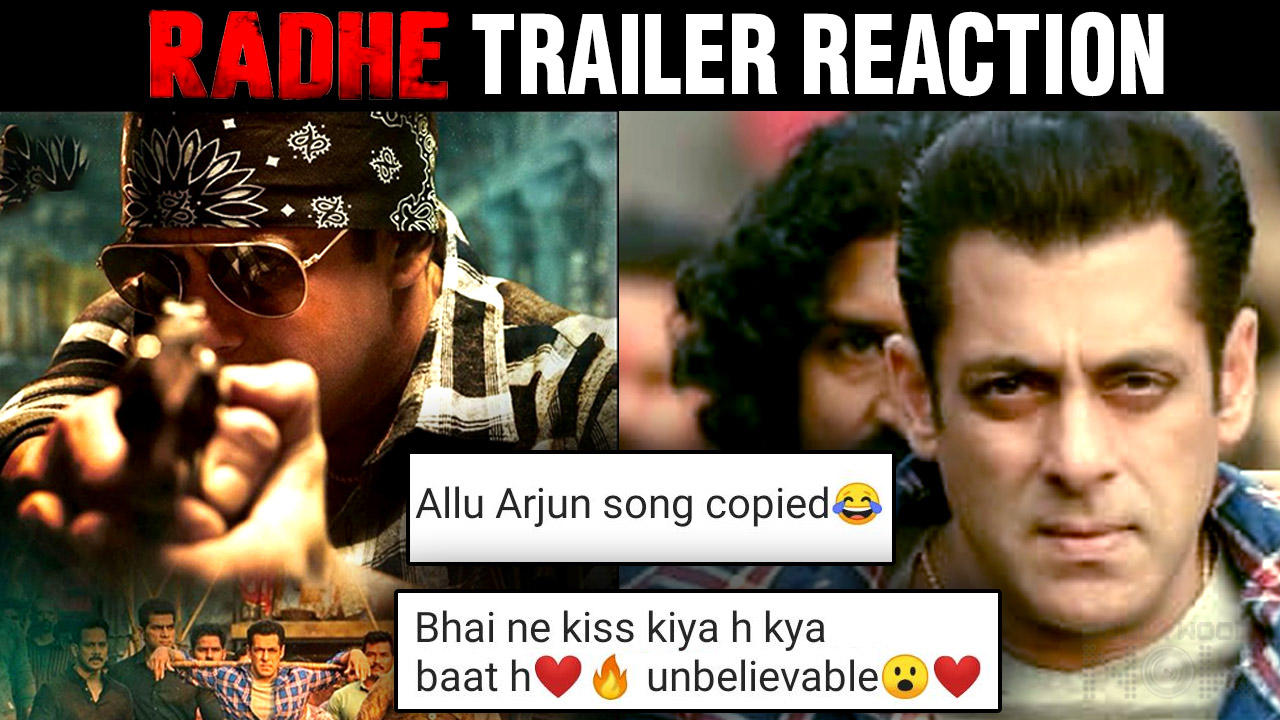 Salman Khan's 'Radhe: Your Most Wanted Bhai' Trailer Out | Fans Epic Reaction