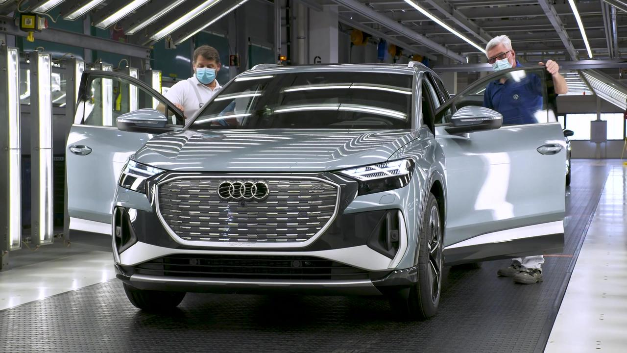 The production of the Audi Q4 e-tron - Finish line