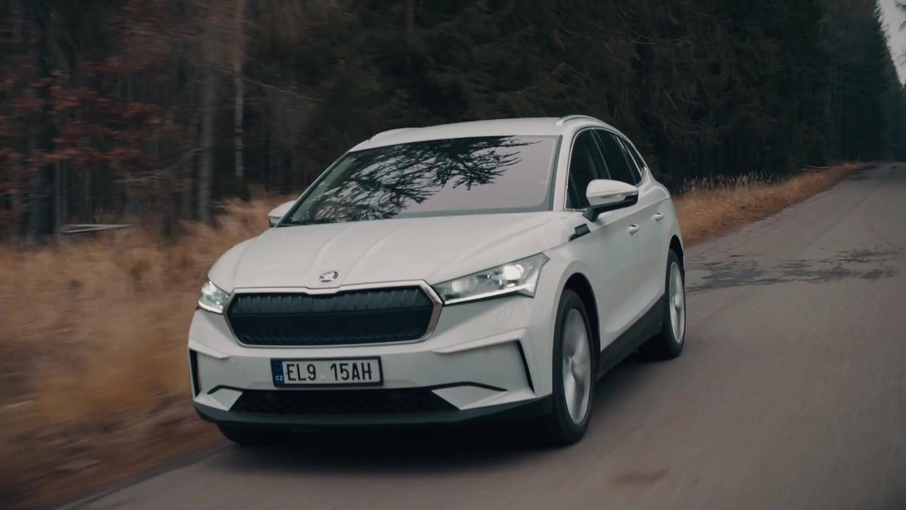 The new SKODA ENYAQ iV Driving Video