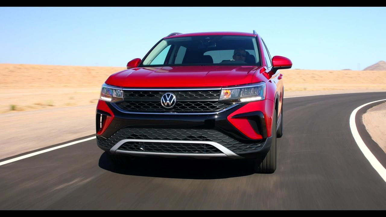 2022 Volkswagen Taos Driving Video