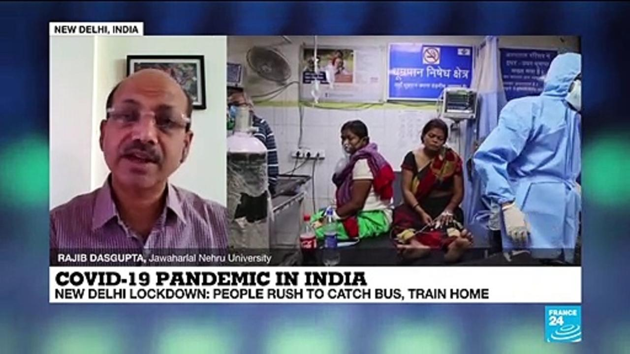 Covid-19 pandemic in India: 'There are deeply disturbing issues about the supply of oxygen'