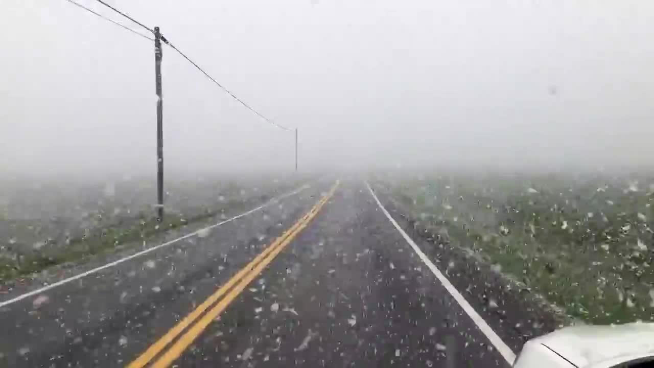 Upstate New York slammed with spring snowstorm