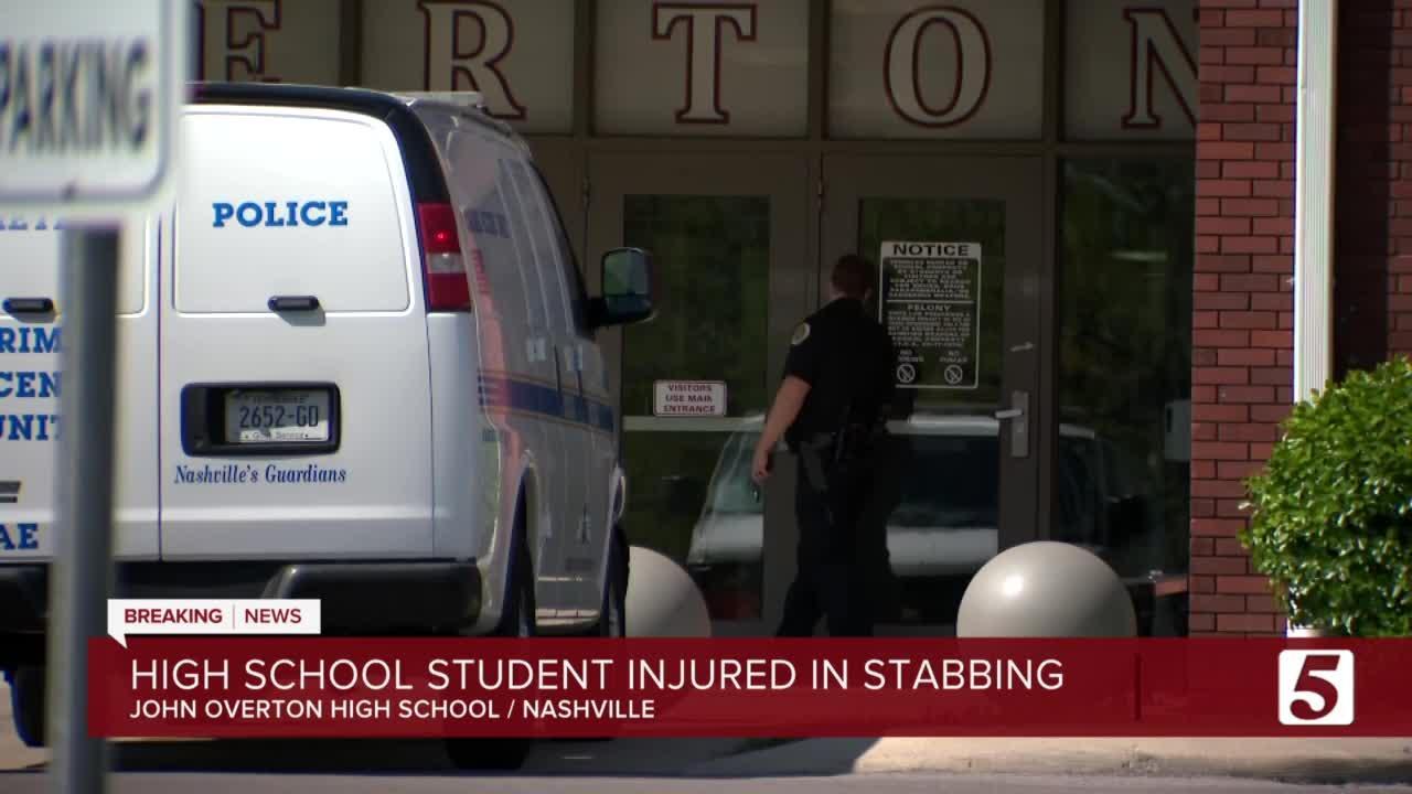 Overton High School student injured in stabbing