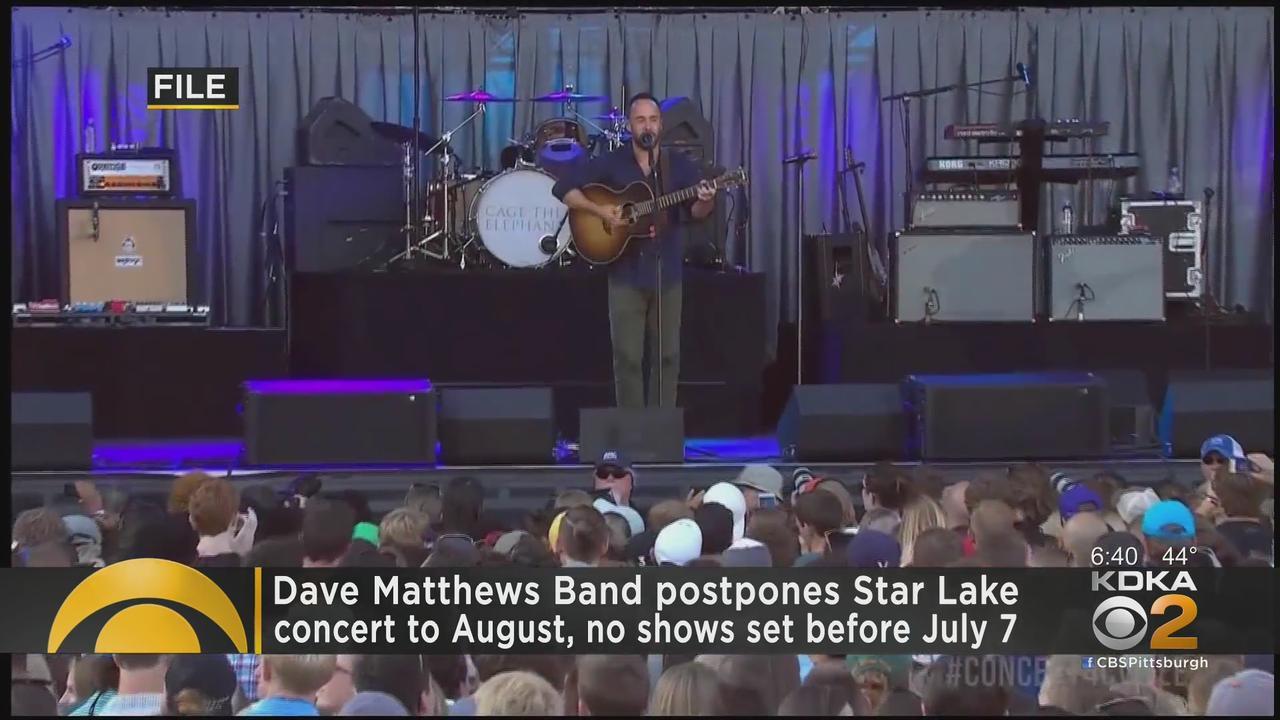 Dave Matthews Band Postpones Show At Star Lake