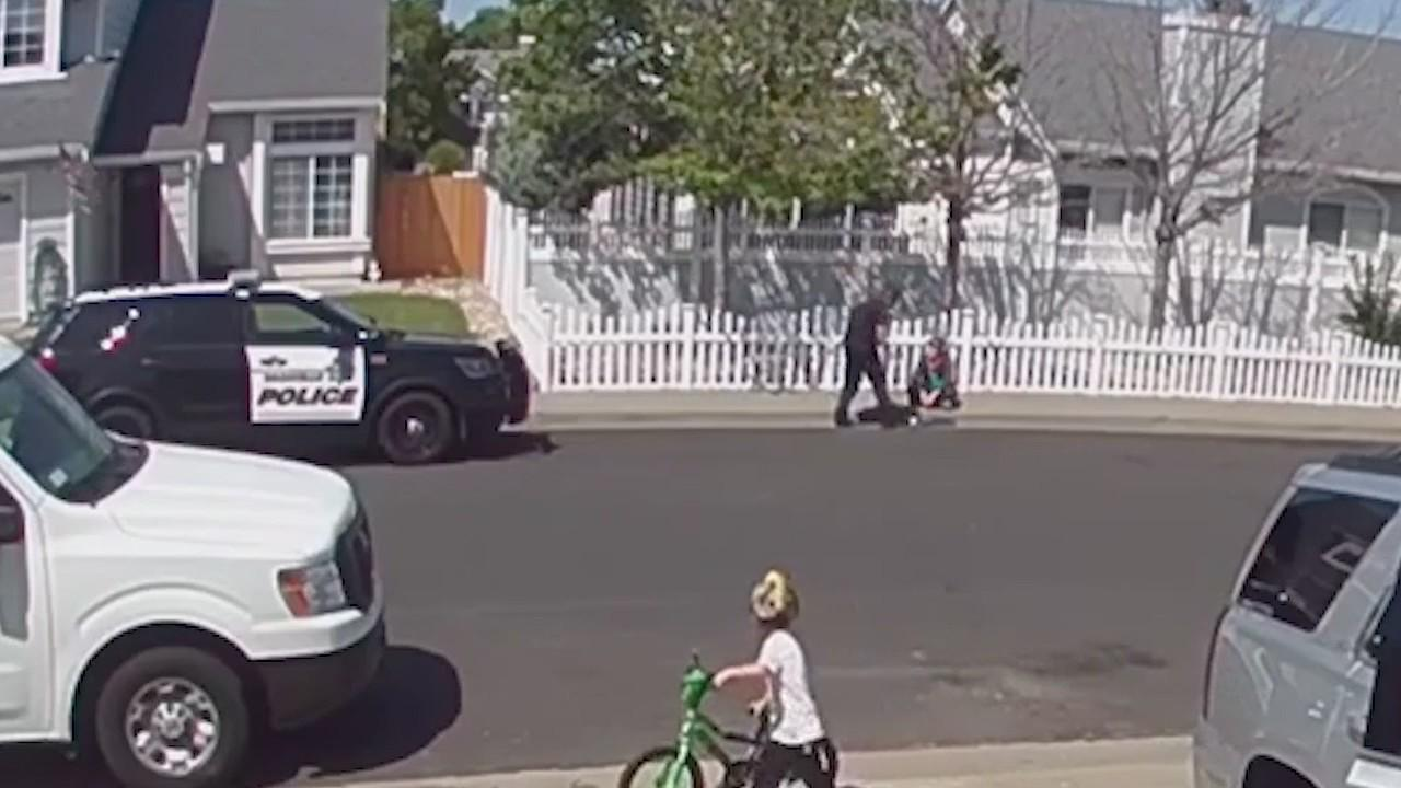 Video: Vacaville police officer shoves, hits teenage boy with autism