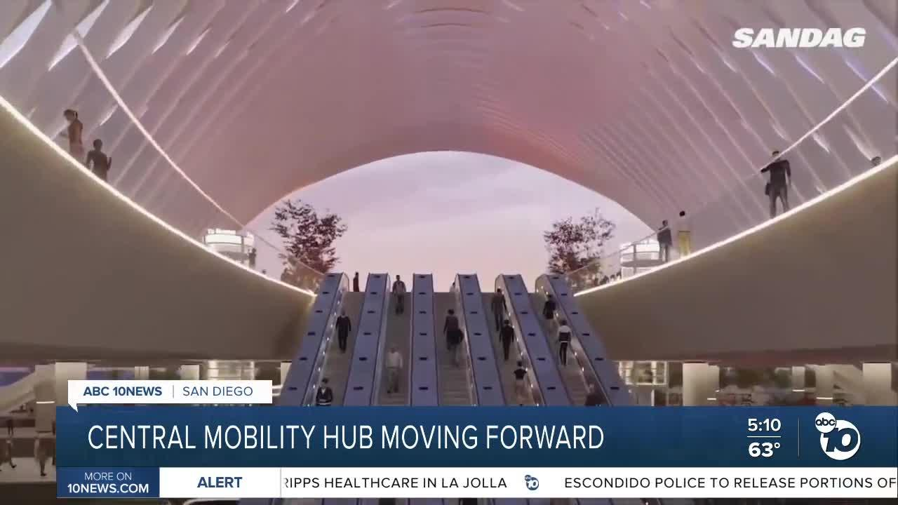Central Mobility Hub moving forward