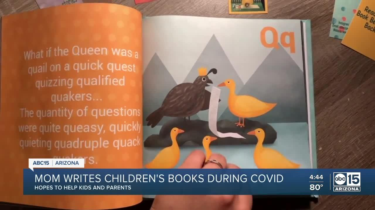 Valley mom writes children's books during COVID