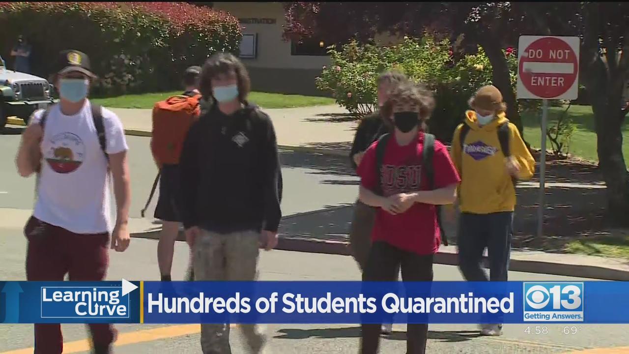 Hundreds Of Students Quarantined At El Dorado Hills School