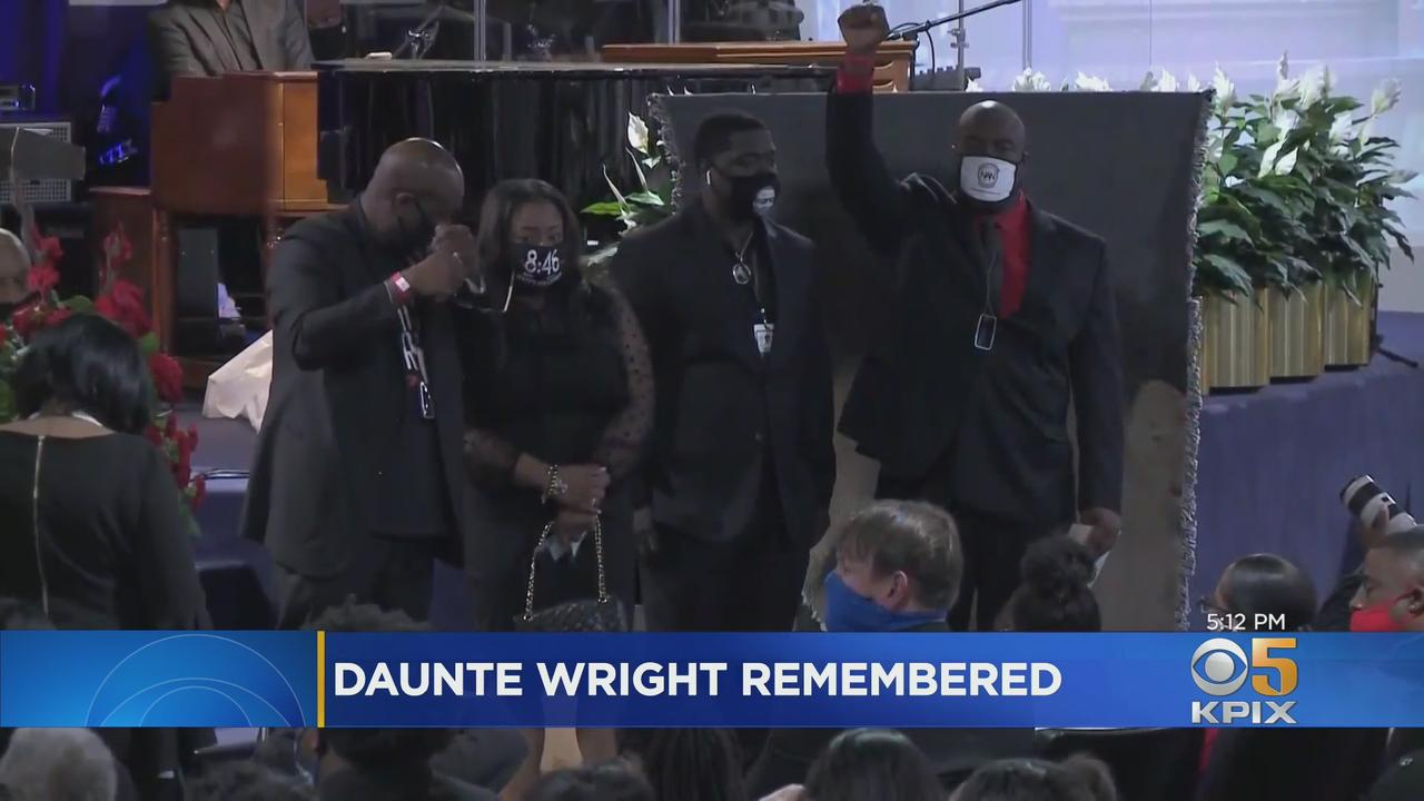 Civil Rights Leaders Pay Respects To Daunte Wright, Shot Dead By Minnesota Police Office During Traffic Stop