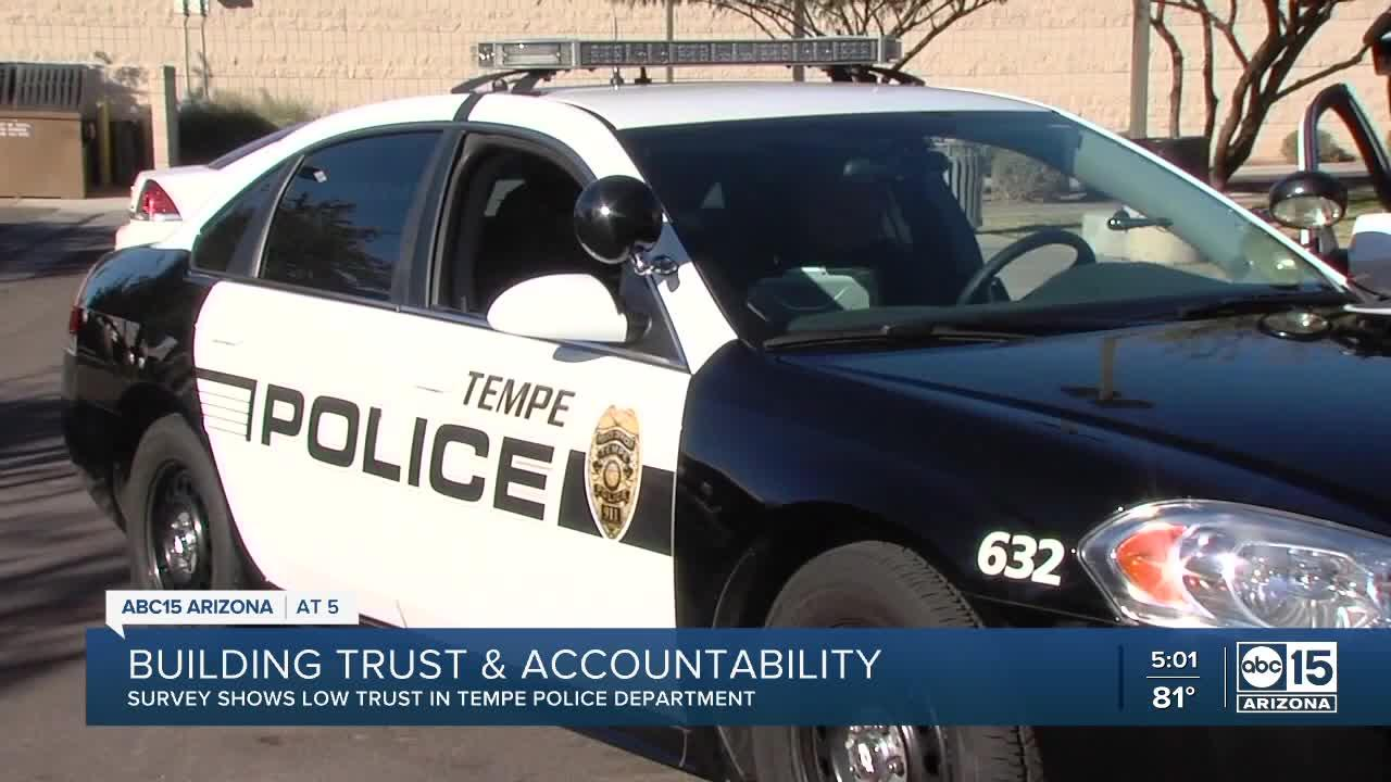Survey shows low trust in Tempe Police Department from local residents