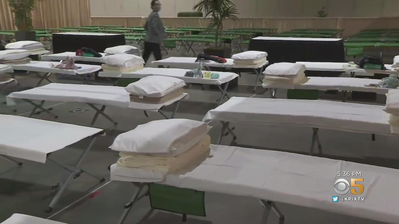 Long Beach Convention Center Converted Into Shelter for Migrant Children