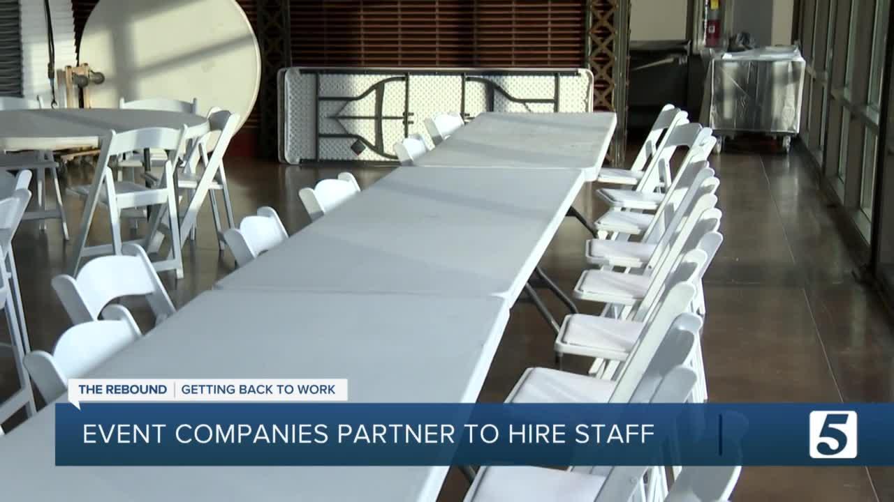 Several Nashville event companies guaranteeing fulltime work