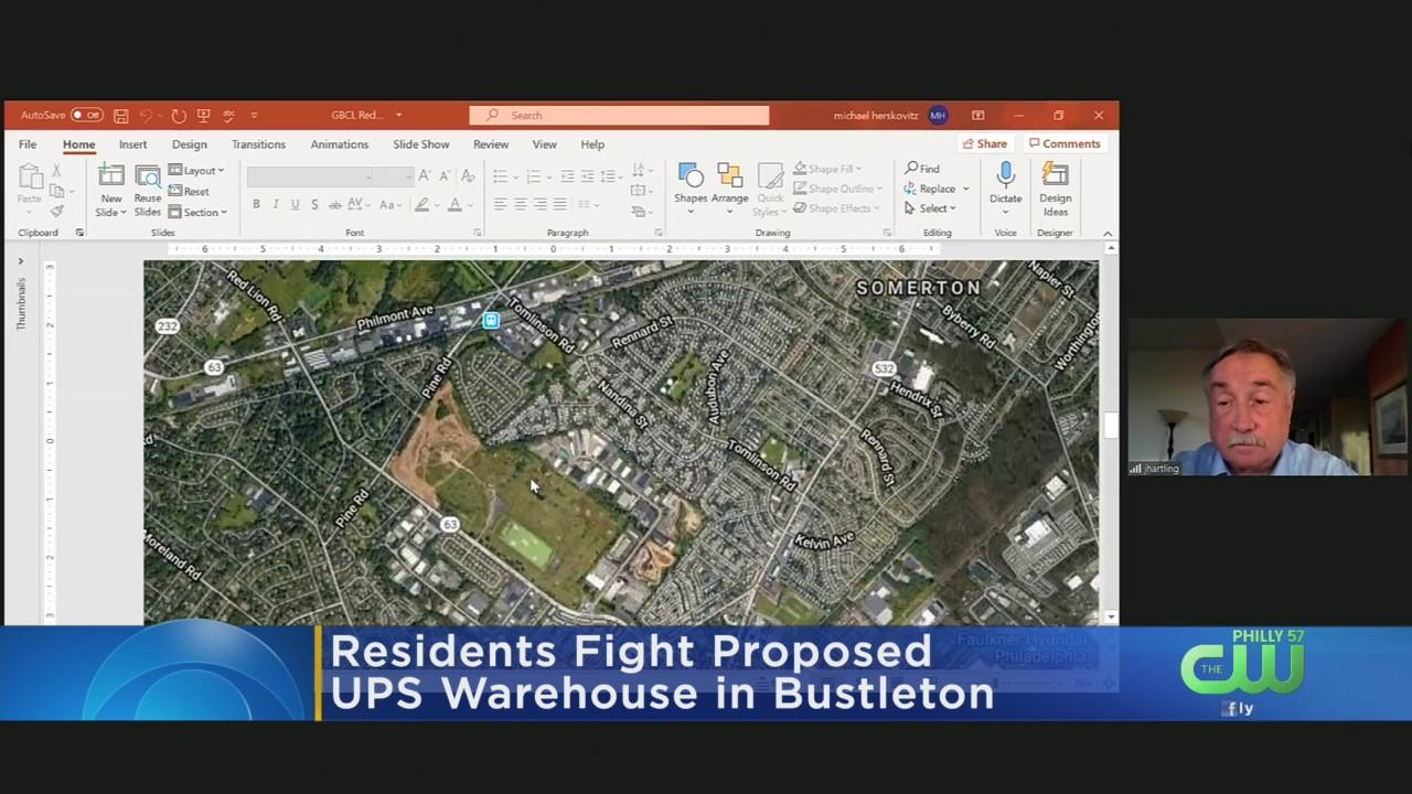 Some Residents Trying To Stop Proposed UPS Warehouse In Northeast Philadelphia