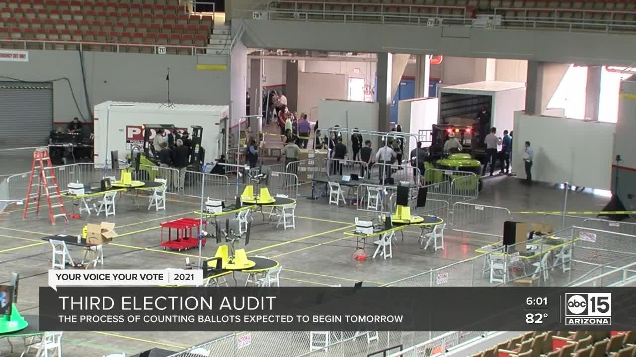 Arizona holds third 2020 presidential election audit