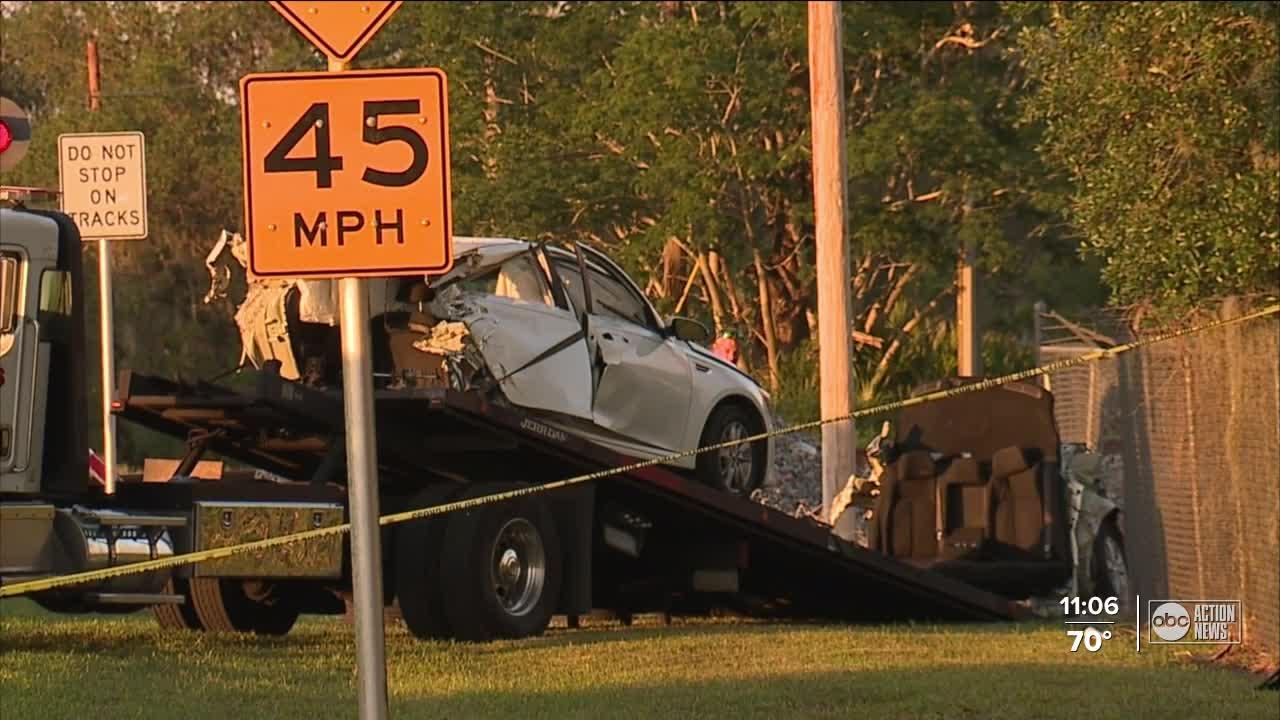 20-year-old woman, her 4-month-old son killed in train-car crash in Polk County