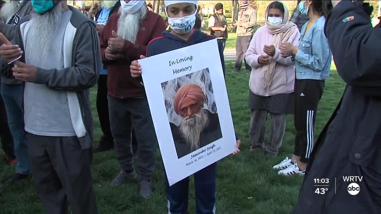 Vigil held in Greenwood for people killed in FedEx shooting