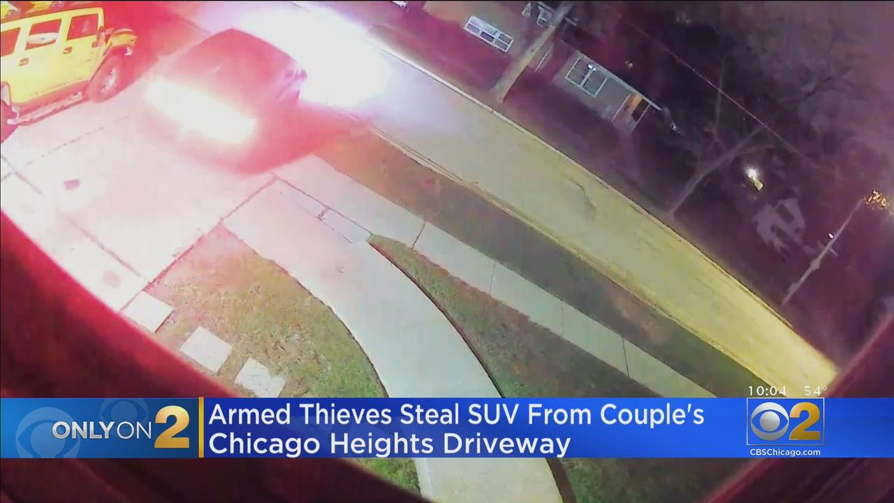 Auto Thieves Steal SUV From Chicago Heights Couple's Driveway; Police Say Dodge SRT's Being Targeted