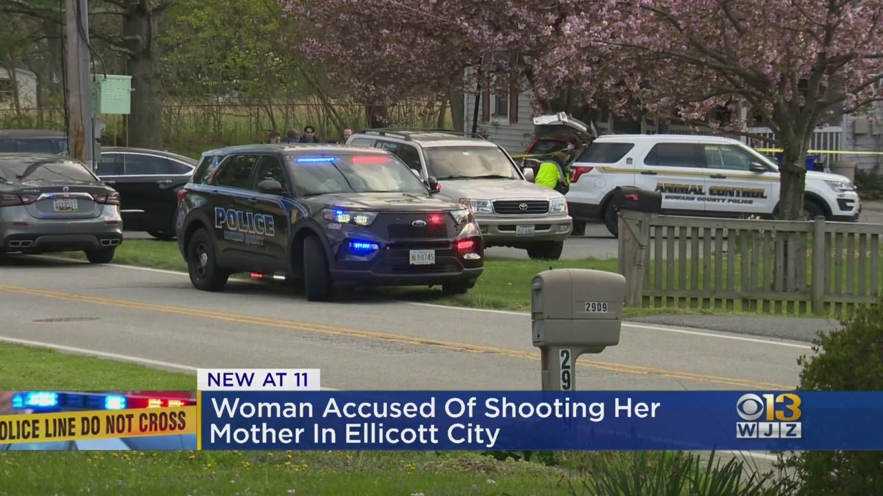 Woman Shoots Mother In Ellicott City Home, Police Say