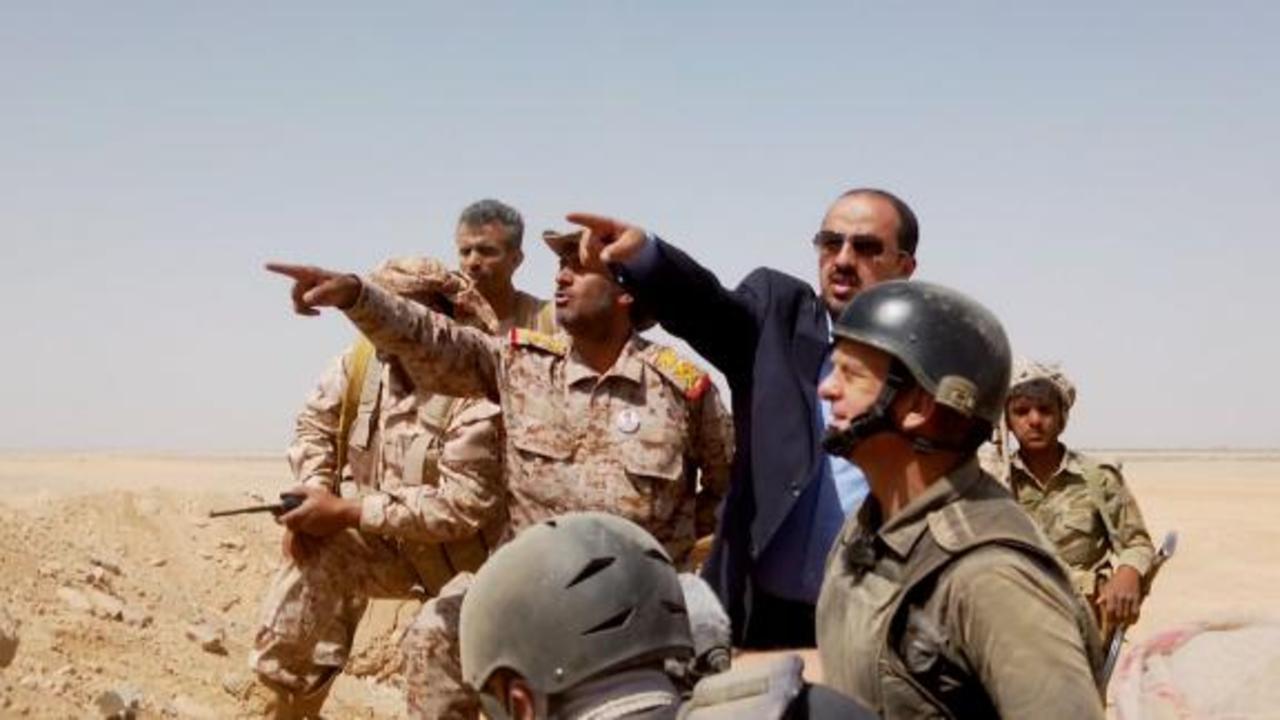 CNN goes to frontline of Yemen's key battleground
