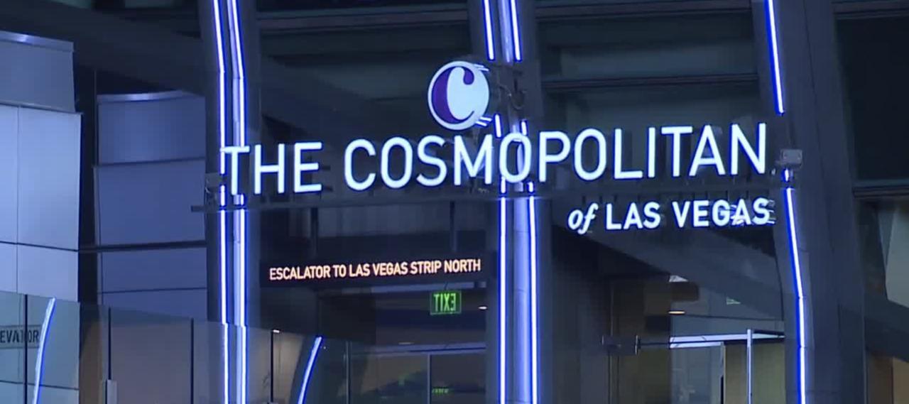 Dive-in movies by the pool at Cosmopolitan Las Vegas