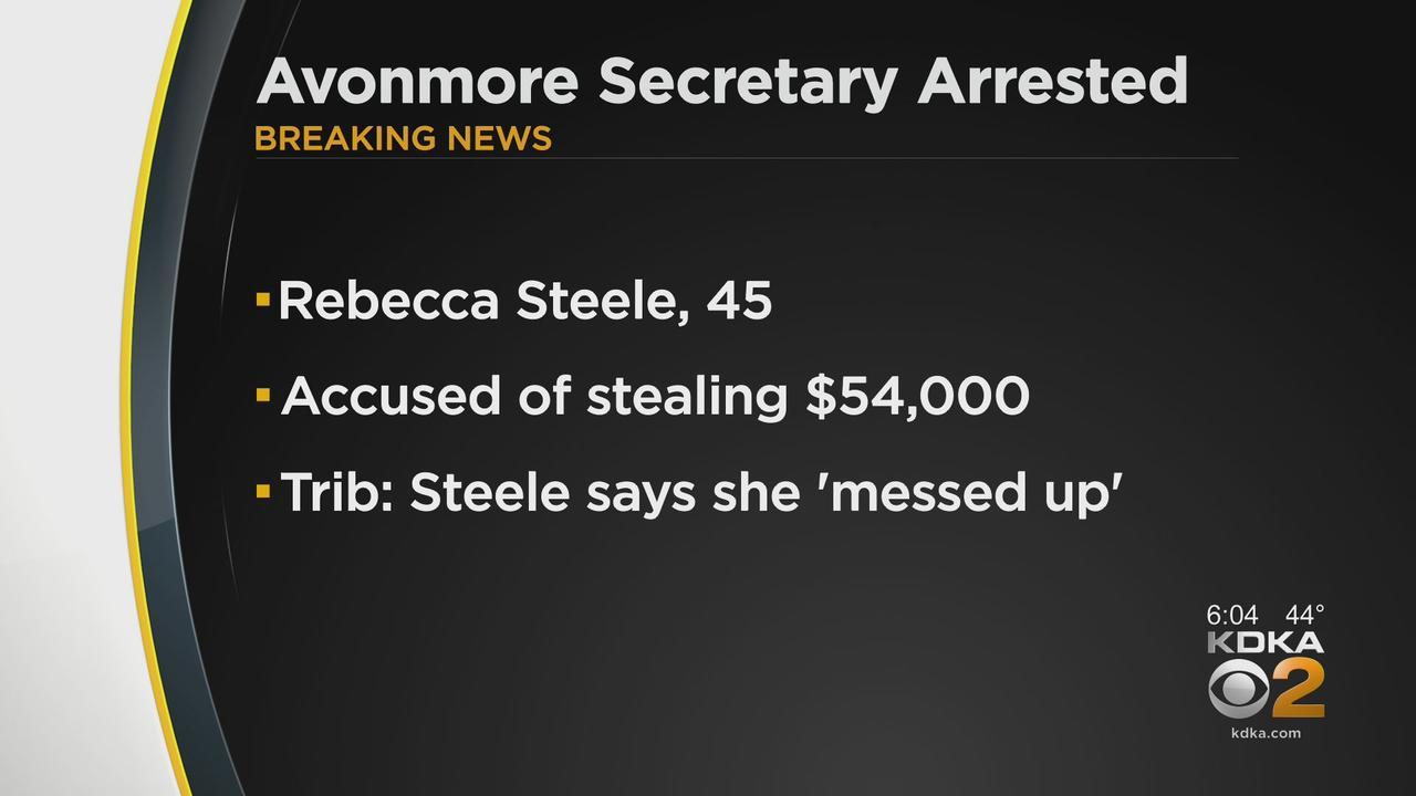 Avonmore Secretary Arrested For Stealing Money